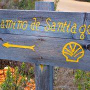 sign camino